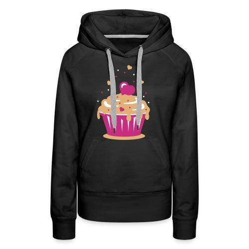 women :: cupcake - Women's Premium Hoodie