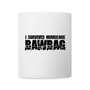 I Survived Hurricane Bawbag - Mug