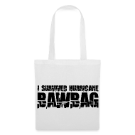 Bags & Backpacks ~ Tote Bag ~ I Survived Hurricane Bawbag