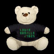 Kuscheltiere ~ Teddy ~ Louis Braille 1825 - Teddy