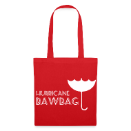 Bags & Backpacks ~ Tote Bag ~ Hurricane Bawbag Brolly Up