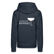 Hoodies & Sweatshirts ~ Women's Premium Hoodie ~ Hurricane Bawbag Brolly Up