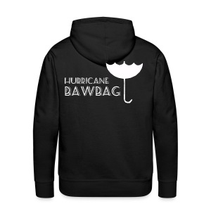 Hurricane Bawbag Brolly Up - Men's Premium Hoodie