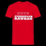 T-Shirts ~ Men's T-Shirt ~ Hurricane Bawbag Symbols