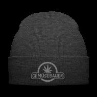 Caps & Mützen ~ Wintermütze ~ Hanf / Gemüsebauer  (Flockdruck) - Wintermütze