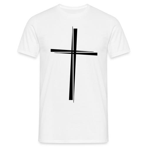 Herren T-Shirt, AngelCross - Männer T-Shirt