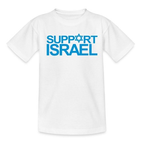 SUPPORT ISRAEL - Teenager T-Shirt