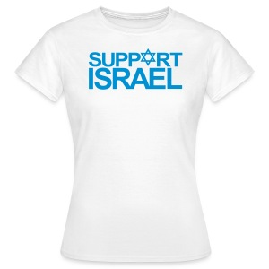 SUPPORT ISRAEL - Frauen T-Shirt