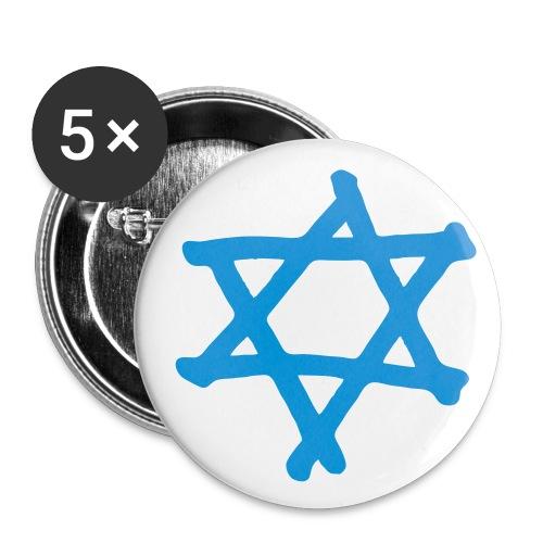 Davidstern 2 - Buttons klein 25 mm