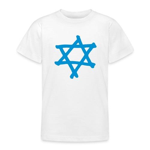 Davidstern 2 - Teenager T-Shirt