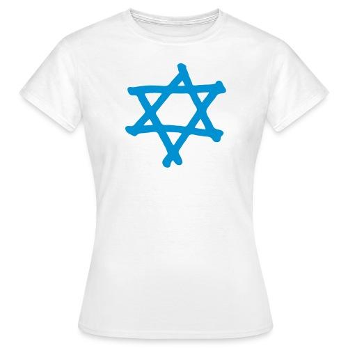 Davidstern 2 - Frauen T-Shirt