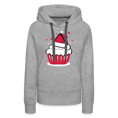 Weihnachtscupcake - Frauen Premium Hoodie