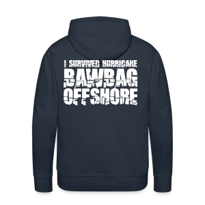 I Survived Hurricane BawBag Offshore - Men's Premium Hoodie