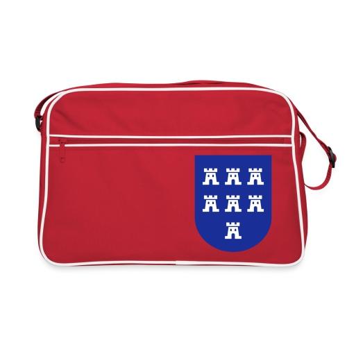 Schicke Tasche mit dem Wappen der Siebenbürger Sachsen - Retro Tasche