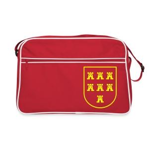 Retrotasche mit dem Wappen der Siebenbürger Sachsen - Retro Tasche