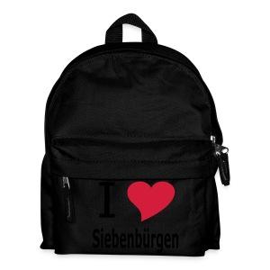 Kinder-Rucksack I love Siebenbürgen - Kinder Rucksack
