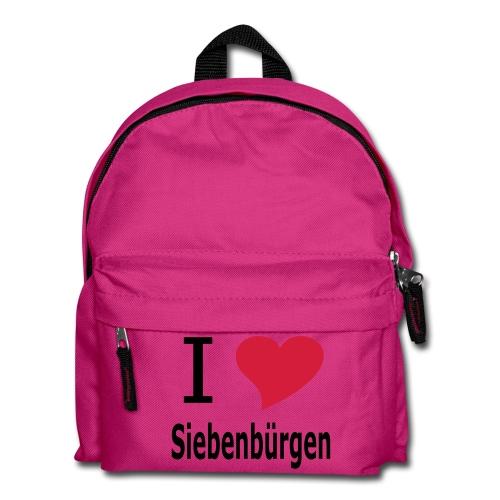 Rucksack I love Siebenbürgen - Kinder Rucksack