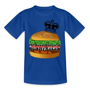 Royal Burger of Rutherglen - Teenage T-shirt