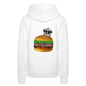 Royal Burger of Rutherglen - Women's Premium Hoodie