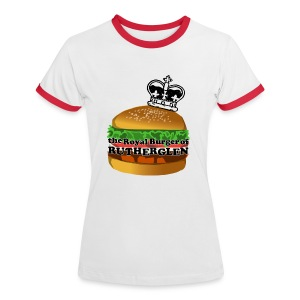 Royal Burger of Rutherglen - Women's Ringer T-Shirt