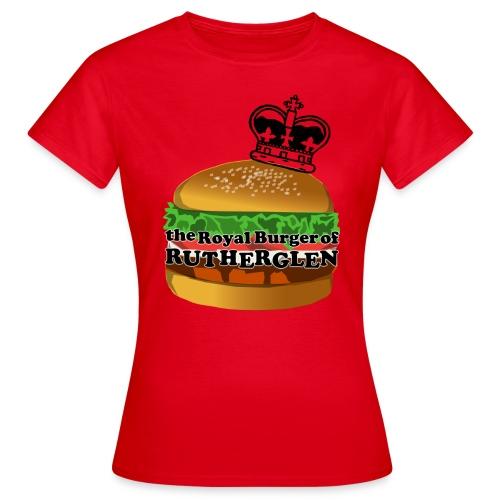 Royal Burger of Rutherglen - Women's T-Shirt