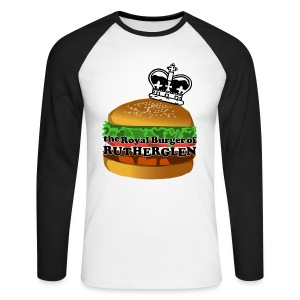 Royal Burger of Rutherglen - Men's Long Sleeve Baseball T-Shirt