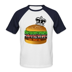 Royal Burger of Rutherglen - Men's Baseball T-Shirt