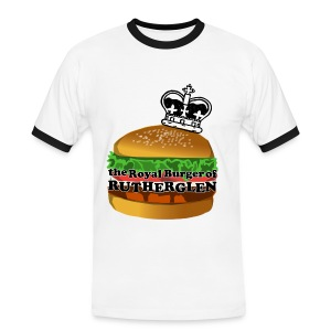 Royal Burger of Rutherglen - Men's Ringer Shirt