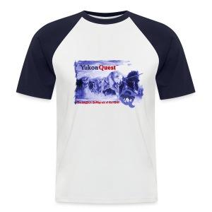Yukon Quest SledArt T-Shirt - Männer Baseball-T-Shirt