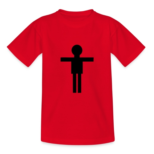 Petit mec Rouge - T-shirt Ado