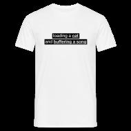 T-Shirts ~ Men's T-Shirt ~ Procatinator Classic Men's Tee (White)