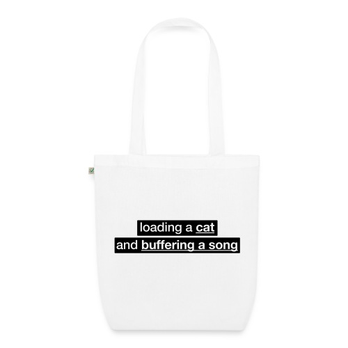 Procatinator Tote Bag (White) - EarthPositive Tote Bag