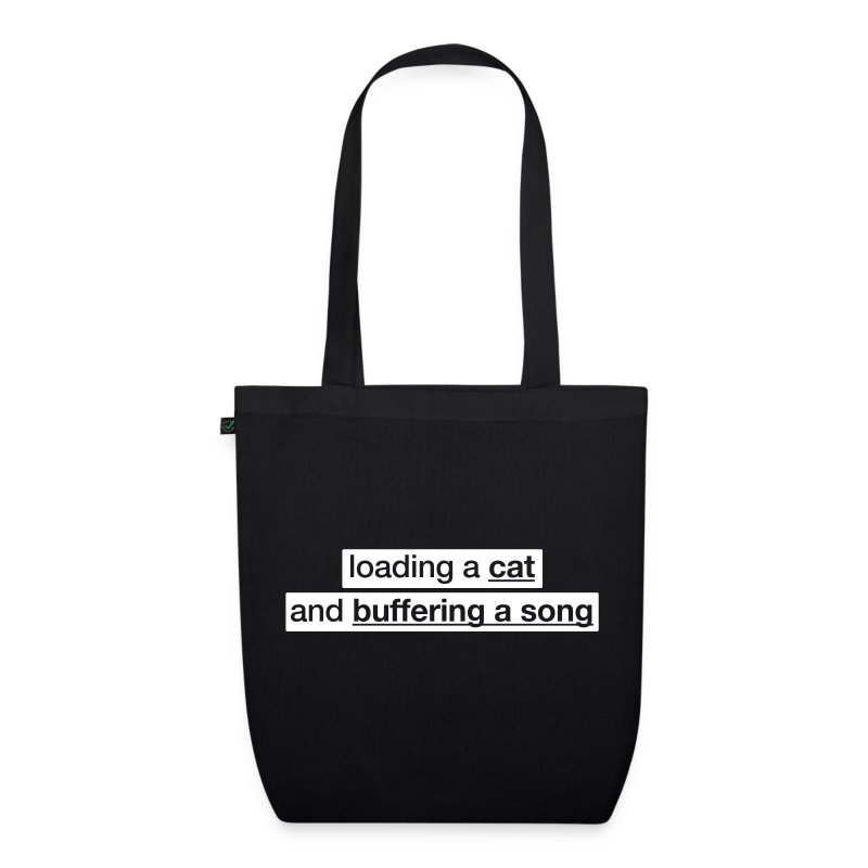 Procatinator Tote Bag (Black) - EarthPositive Tote Bag