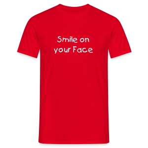 Smile On Your Face - Men's T-Shirt