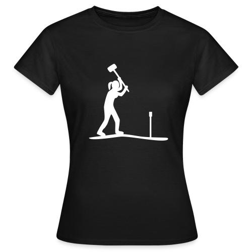 T-Shirt Bodenkundlerin, Pürckhauer  - Frauen T-Shirt