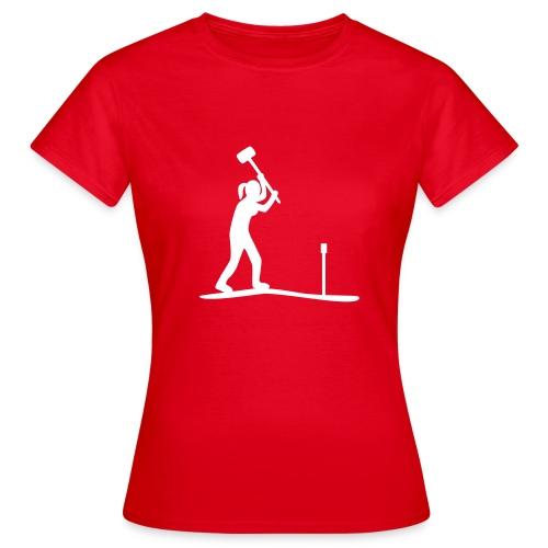 T-Shirt Bodenkundlerin - I love soil - Frauen T-Shirt