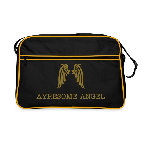 Ayresome Angel - Gold wings - Retro Bag
