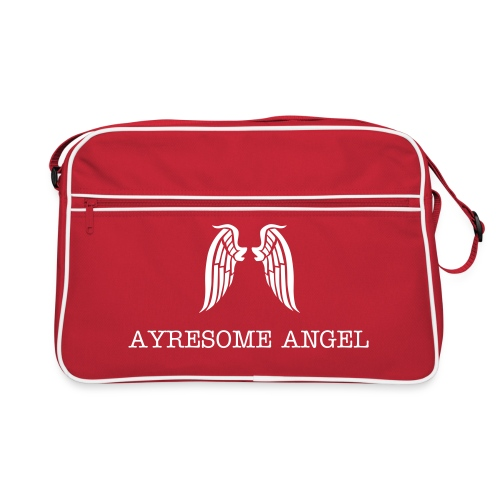 Ayresome Angel - White wings - Retro Bag