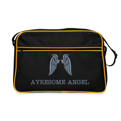 Ayresome Angel - Silver wings - Retro Bag