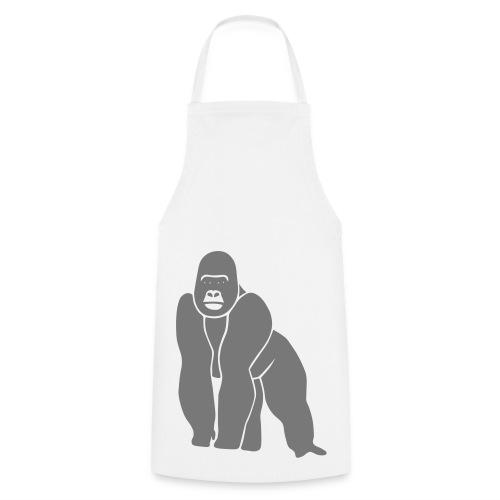 tier t-shirt gorilla affe monkey king kong godzilla silberrücken orang utan schimpanse ape - Kochschürze