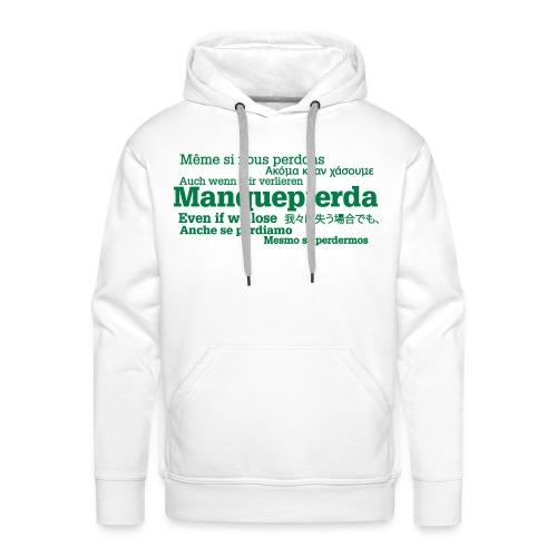 Sudadera Manquepierda Universal para Hombre - Sudadera con capucha premium para hombre