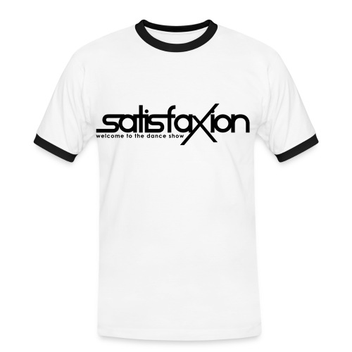 Camiseta 2 Colores SatisfaXion Men - Camiseta contraste hombre