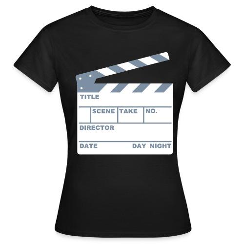 CLAPPER BOARD (WOMEN) * - Women's T-Shirt