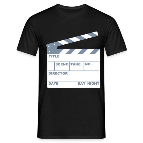CLAPPER BOARD (MEN) * - Men's T-Shirt