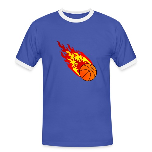 Fireball Shirt - Männer Kontrast-T-Shirt