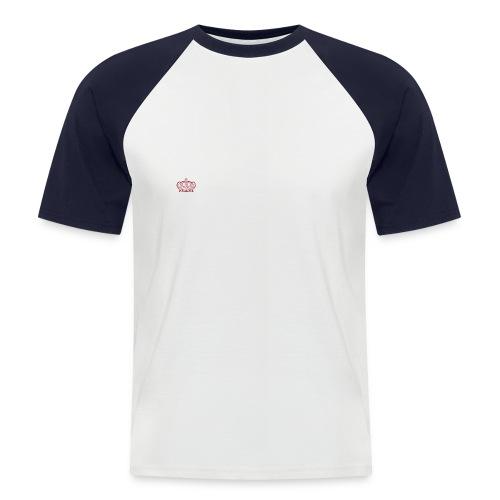 My mom is my hero men's t-shirt - Men's Baseball T-Shirt
