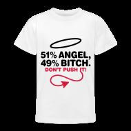 Camisetas ~ Camiseta adolescente ~ Camiseta de niño Angel or Bitch