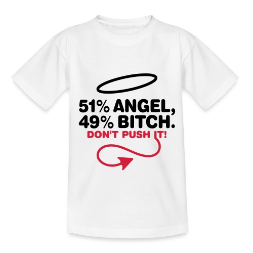 Camiseta de niño Angel or Bitch - Camiseta adolescente