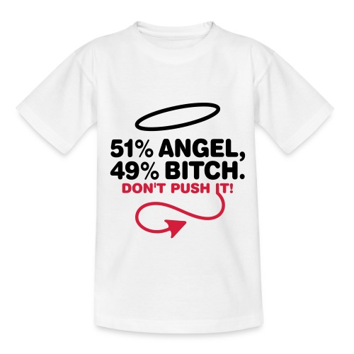 Camiseta de niño Angel or Bitch - Camiseta adolescente
