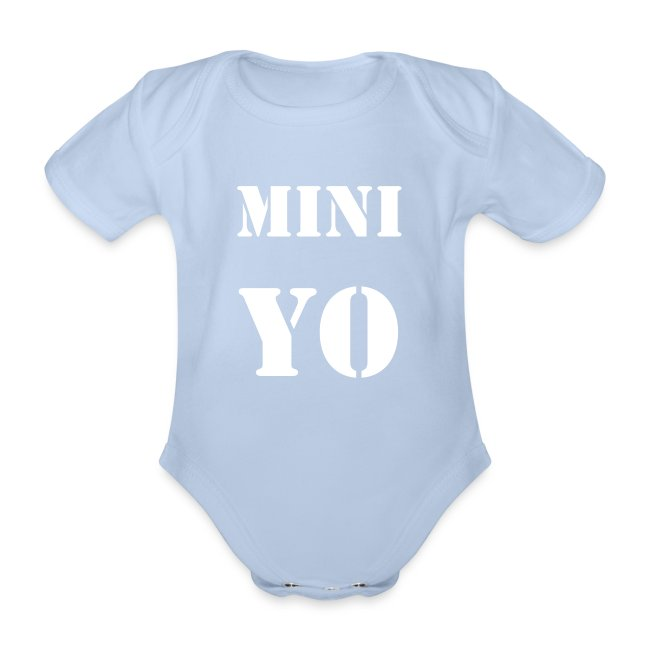 "Body de bebé ""MINI YO"""